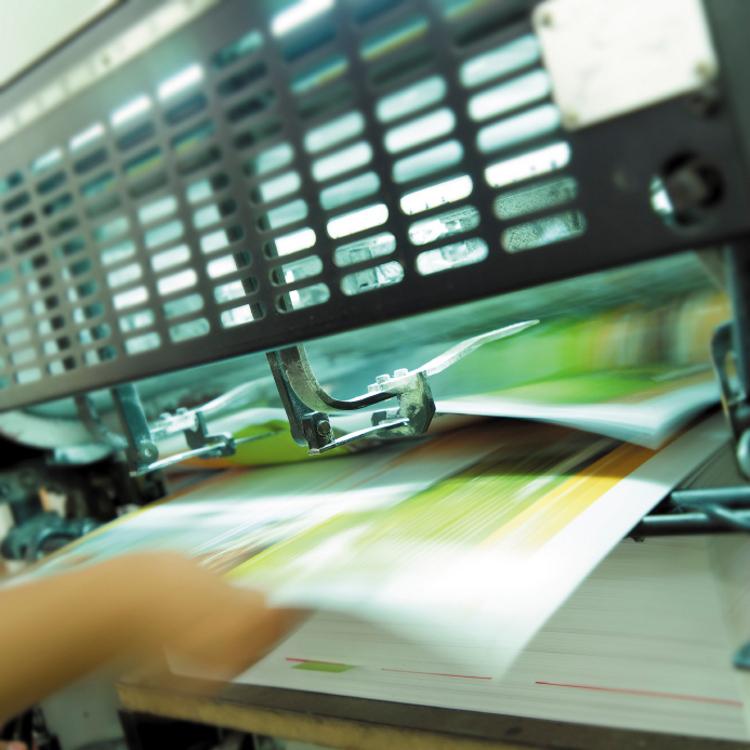 Image of graphics printing